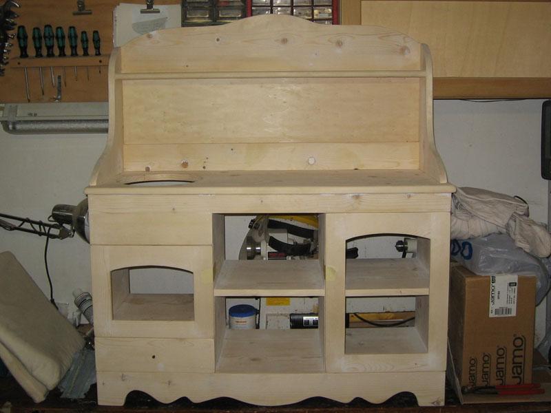 Legno e stoffa laboratorio legno cucina giocattolo